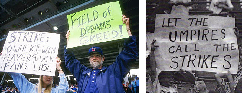 major league baseball strike signs 1994 1995 This Day In History   September 14th