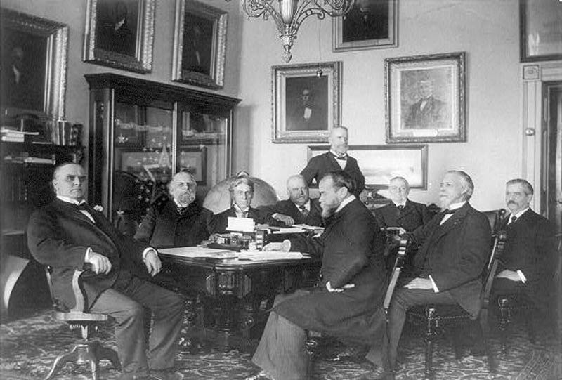 mckinley cabinet This Day In History   September 14th