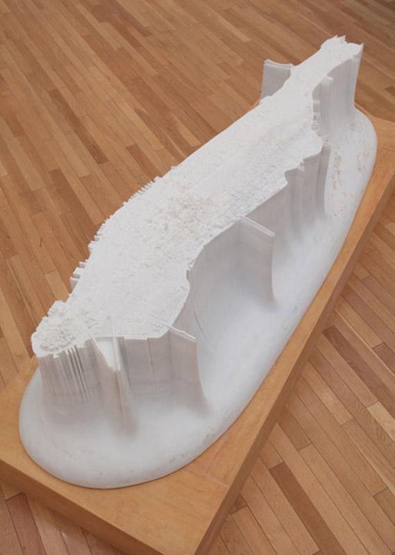 miniature manhattan made from marble by yutaka sone 1 Miniature Manhattan Made from One Piece of Marble