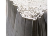 Miniature Manhattan Made from One Piece of Marble