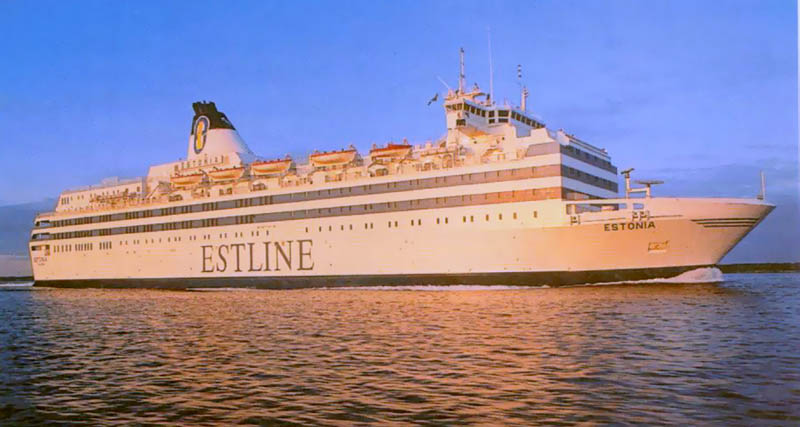 ms estonia cruise ferry ship sinks This Day In History   September 28th