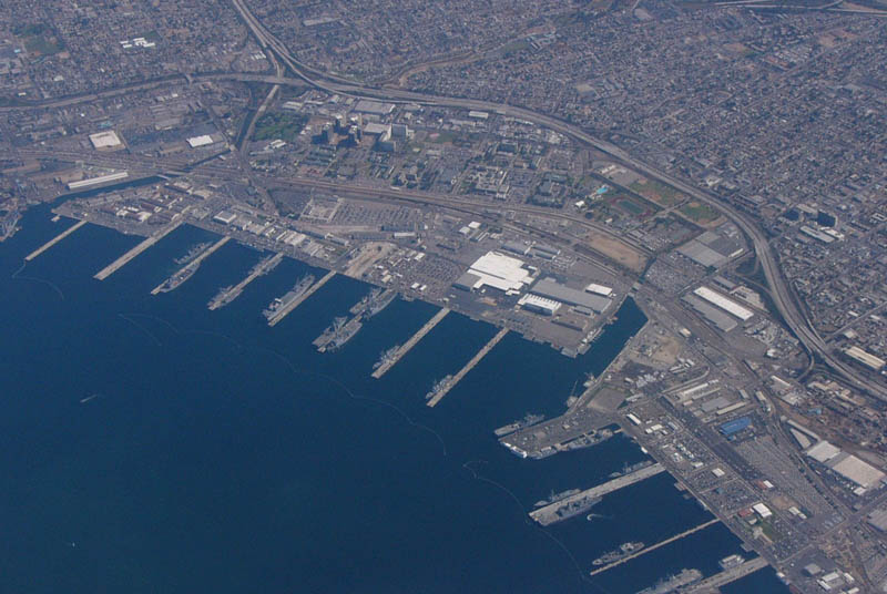 naval base san diego 16 U.S. Air Force Bases and Naval Stations From Above