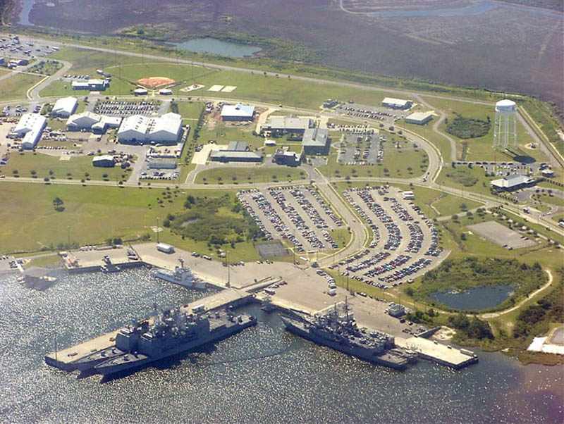 naval station pascagoula 16 U.S. Air Force Bases and Naval Stations From Above