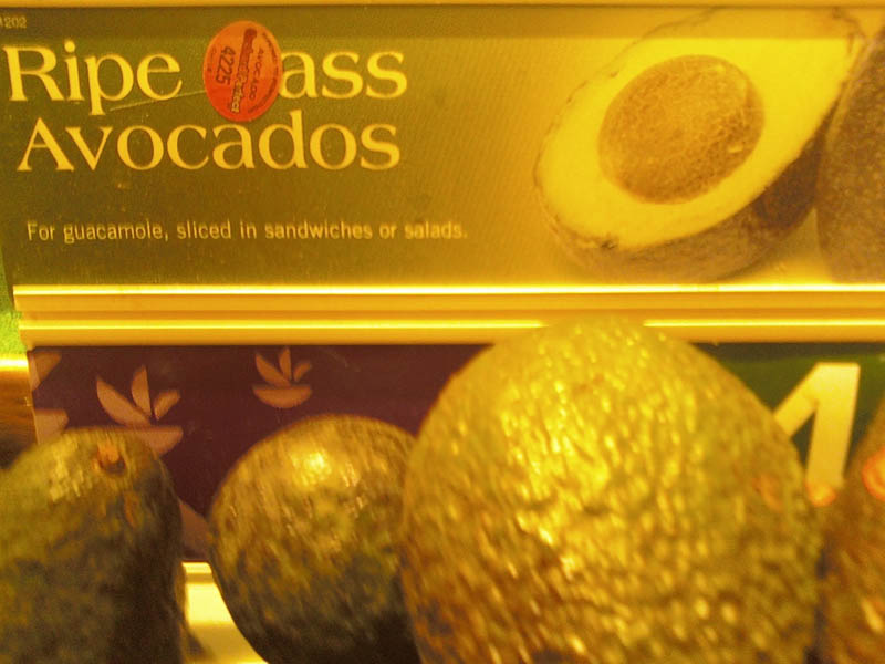 ripe ass avocados The Friday Shirk Report   Volume 127
