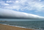 Picture of the Day: Roll Cloud Over Uruguay