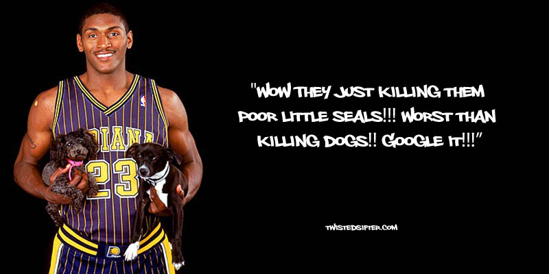 ron artest metta world peace funny 10 21 Hilarious Quotes by Ron Artest aka Metta World Peace