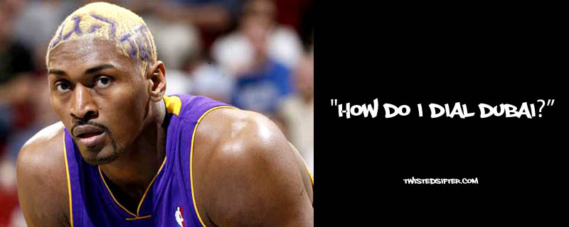 ron artest metta world peace funny 5 21 Hilarious Quotes by Ron Artest aka Metta World Peace