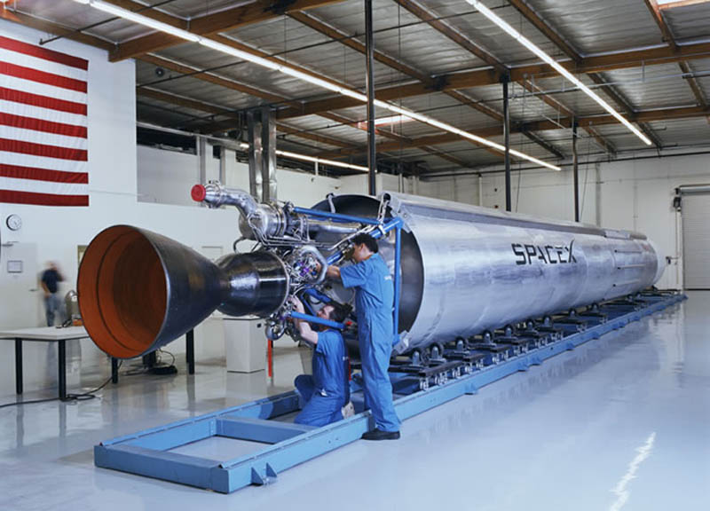 spacex falcon in warehouse This Day In History   September 28th