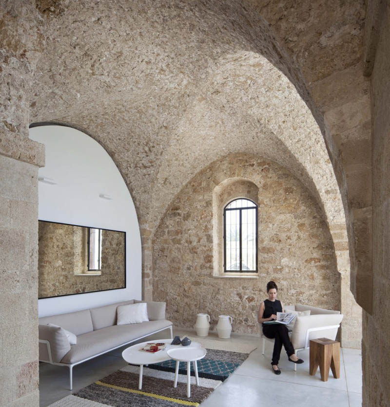stone house 8 Beautiful Stone Home Restoration in Israel