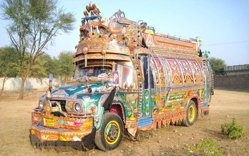 truck art pakistan 11 Decorative Truck Art from Pakistan