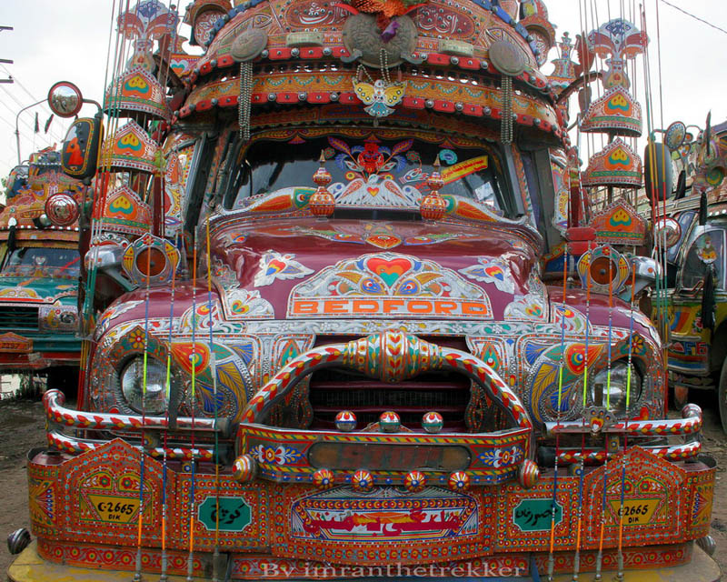 truck art pakistan 5 Decorative Truck Art from Pakistan