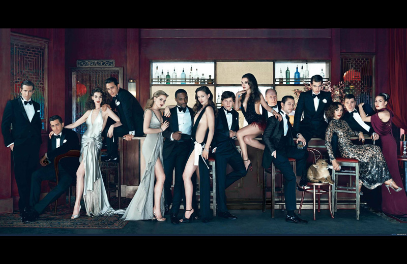 vanity fair cover hollywood elite feb 2011 Picture of the Day: Vanity Fairs New Hollywood Elite Cover