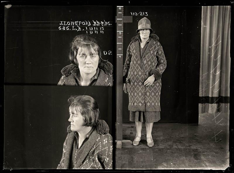 vintage female mug shots 20 Femme Fatales: 35 Vintage Female Mug Shots