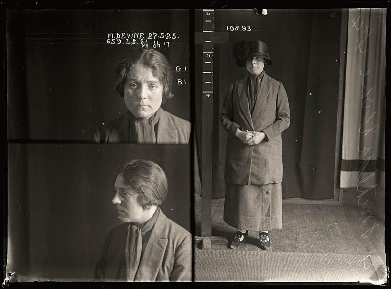 vintage female mug shots 29 Femme Fatales: 35 Vintage Female Mug Shots