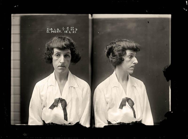 vintage female mug shots 8 Femme Fatales: 35 Vintage Female Mug Shots