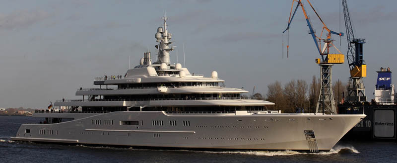 worlds biggest largest yacht eclipse roman abramovich 2 Eclipse   The Largest Private Yacht in the World