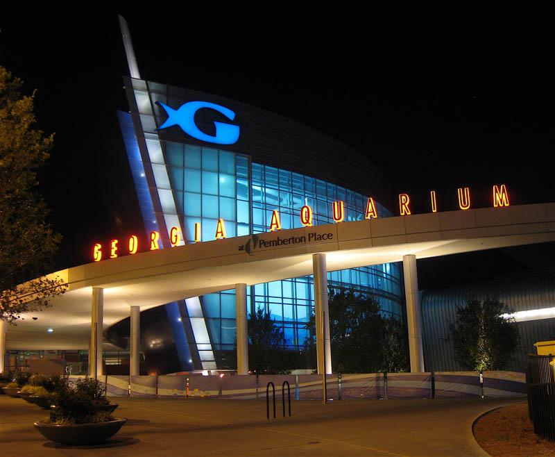 worlds largest aquarium atlanta georgia 2 The World's Largest Aquarium [25 pics]