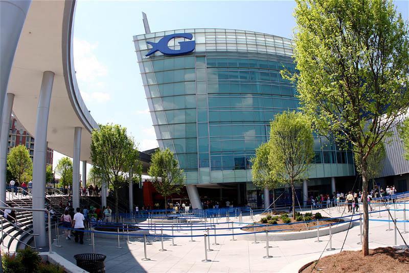 worlds largest aquarium atlanta georgia 3 The World's Largest Aquarium [25 pics]