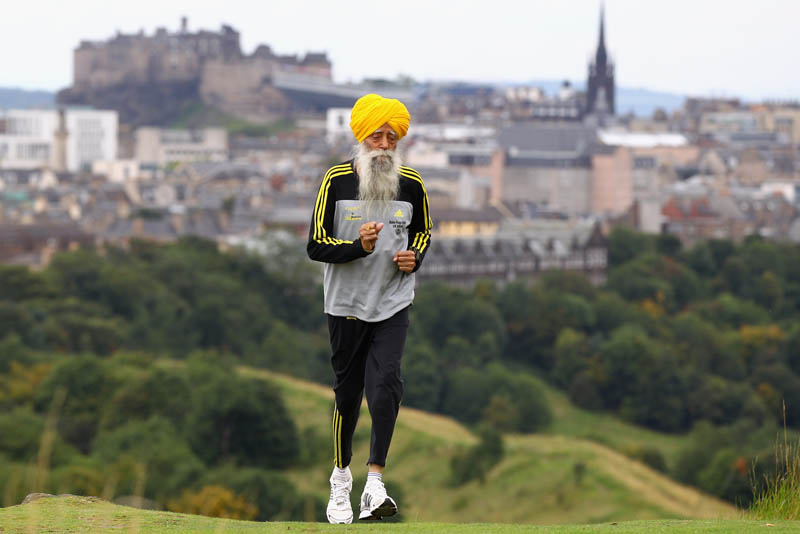 worlds oldest marathon runner fauja singh The Top 50 Pictures of the Day for 2011