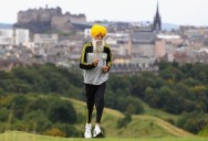Picture of the Day: World's Oldest Marathon Runner, 100 year-old Fauja Singh