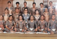 Picture of the Day: Yakuza Family Portrait