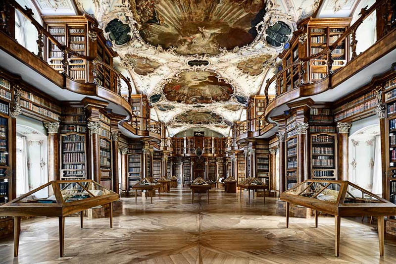 abbey library of saint gall 2 15 Beautiful Libraries Around the World