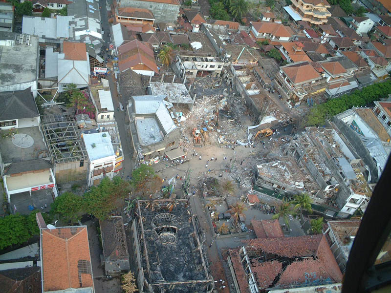 bali nightclub bombings 2002 aerial This Day In History   October 12th