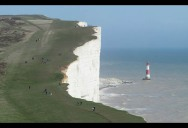 Picture of the Day: The Beachy Head Chalk Cliff in Southern England