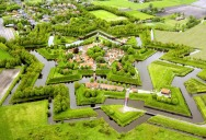 Picture of the Day: Bourtange Star Fort in Groningen, Netherlands