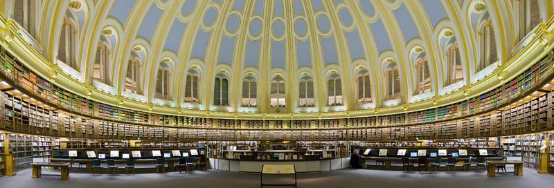 british museum reading room 15 Beautiful Libraries Around the World