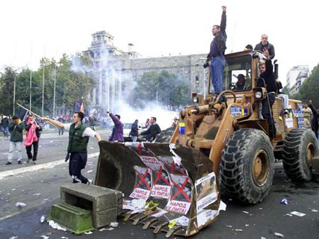 bulldozer revolution This Day In History   October 5th