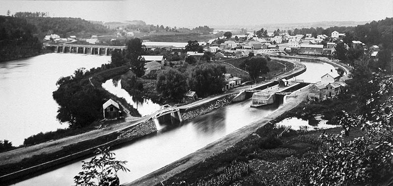 erie canal black and white This Day In History   October 26th
