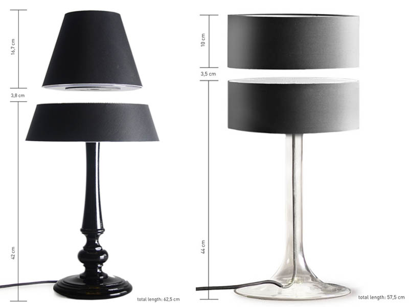floating table desk lamp magnets 10 Floating Table Lamps are Awesome