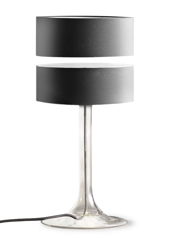 floating table desk lamp magnets 2 Floating Table Lamps are Awesome