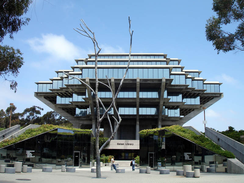 geisel library ucsd 2 15 Beautiful Libraries Around the World