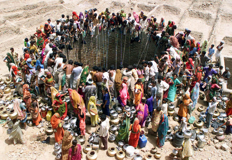 giant well in natwarghad india Picture of the Day: The Giant Well in Natwarghad, India