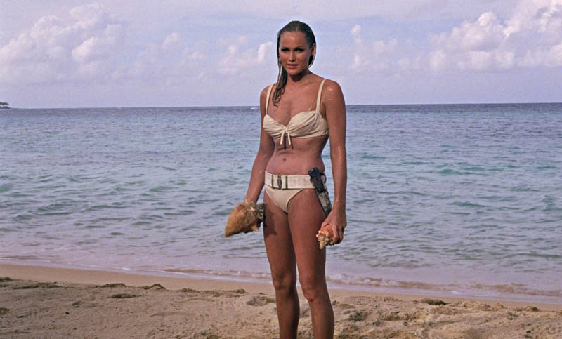 honey ryder ursula andress bikini This Day In History   October 5th