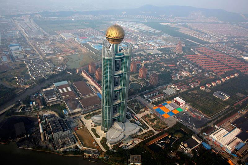 huaxi village skyscraper Picture of the Day: Incredible Huaxi Village Skyscraper in China