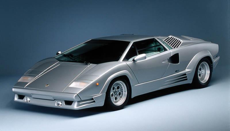 lamborghini countach 25th anniversary 1988 2 The Legendary Lamborghini Countach
