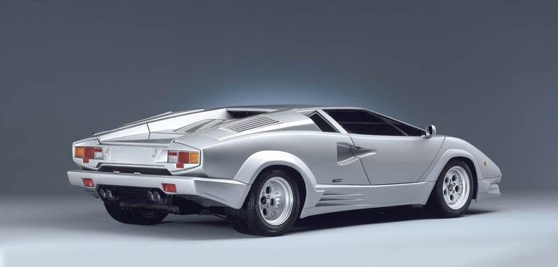 lamborghini countach 25th anniversary 1988 4 The Legendary Lamborghini Countach
