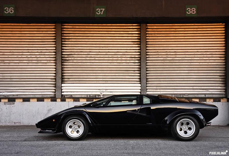 lamborghini countach 25th anniversary 1988 black The Legendary Lamborghini Countach