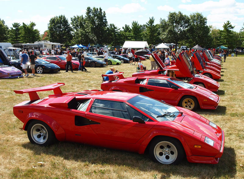 lamborghini countach 5000qv quattrovalvole 1985 1989 3 The Legendary Lamborghini Countach