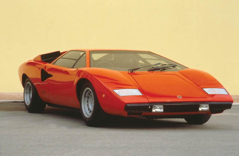 lamborghini countach lp 400 1973 1981 1 The Legendary Lamborghini Countach