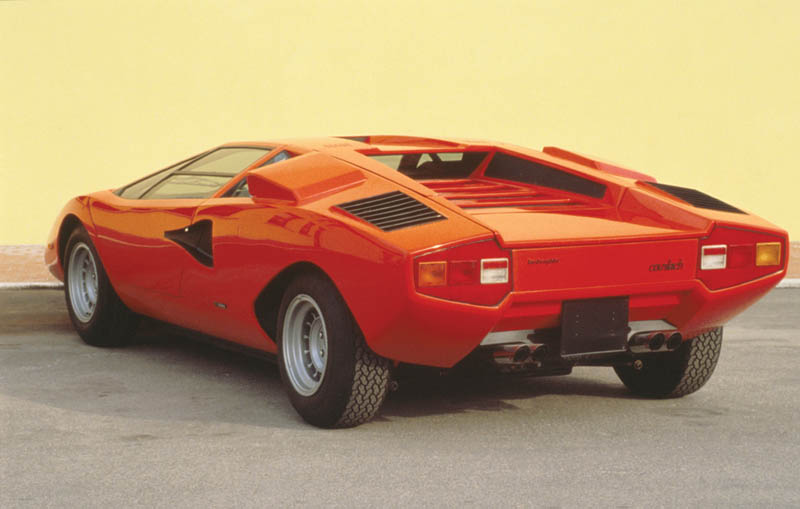 lamborghini countach lp 400 1973 1981 3 The Legendary Lamborghini Countach