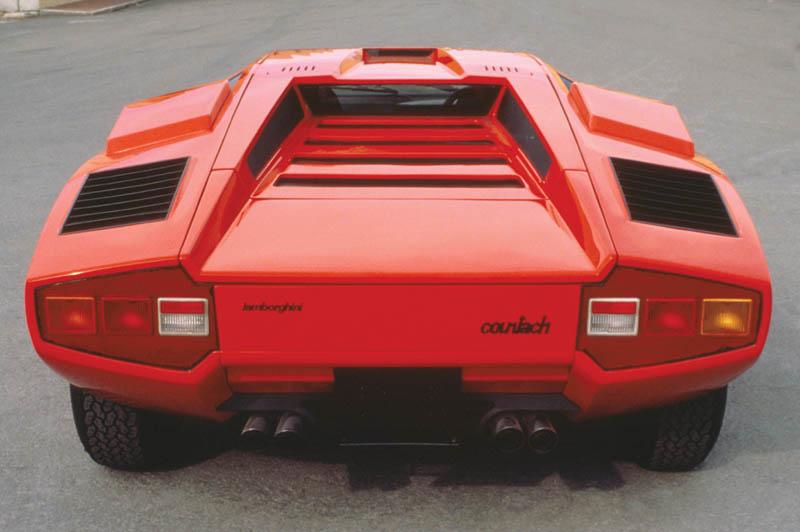 lamborghini countach lp 400 1973 1981 6 The Legendary Lamborghini Countach