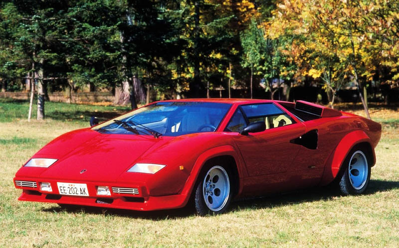 lamborghini countach lp500s The Legendary Lamborghini Countach