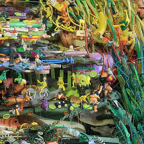 natural landscapes recreated from junk tom deininger 8 Idyllic Landscapes Recreated from Junk