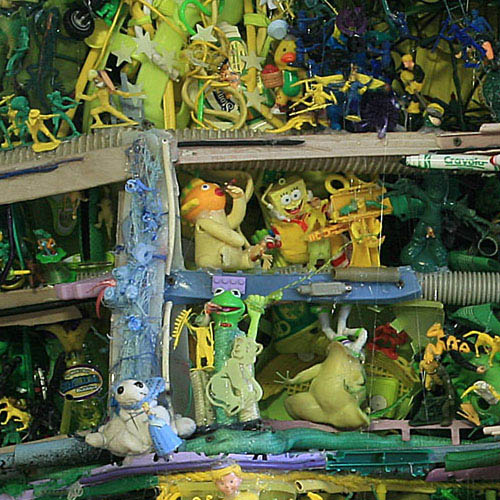 natural landscapes recreated from junk tom deininger 9 Idyllic Landscapes Recreated from Junk