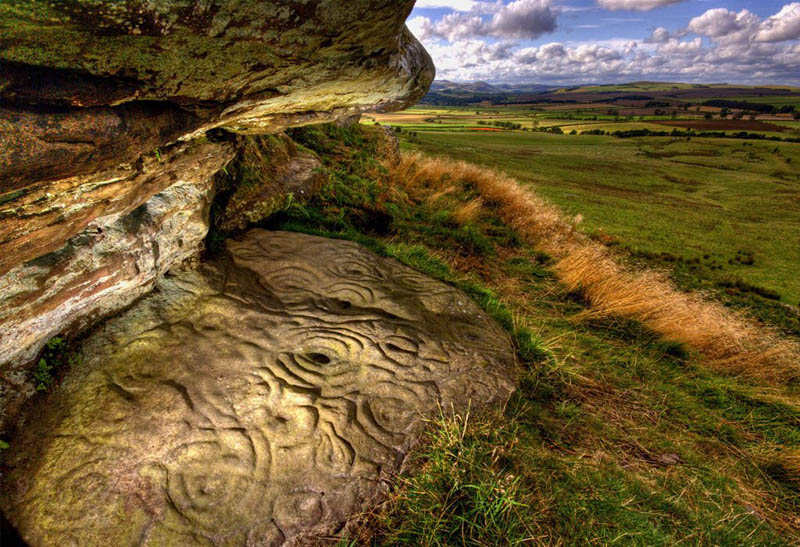 neolithic stone carving northumberland Picture of the Day: 5000 Year Old Neolithic Stone Carving in Northumberland