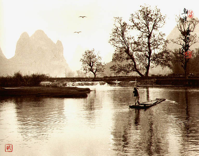 photographs that look like traditional chinese paintins dong hong oai asian pictorialism 16 Photos Made to Look Like Traditional Chinese Paintings